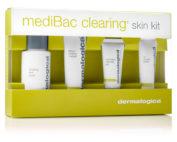 beauty & bronze dermalogica medibac clearing skin kit travel size