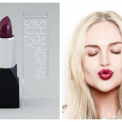 Miss Veronica SPARKLING PLUM Shanghai Suzi Lipstick
