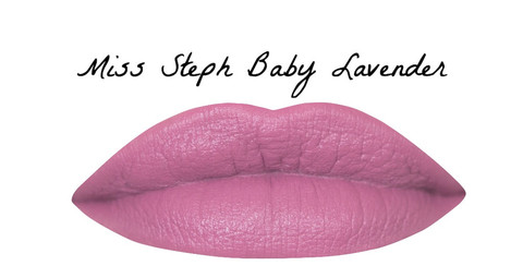 Miss Steph BABY LAVENDER Shanghai Suzy Lipstick