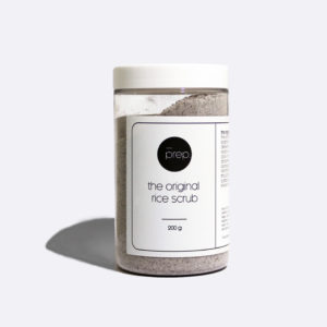 Prep Bod Original Rice Scrub in a Jar #packagingforthepeople