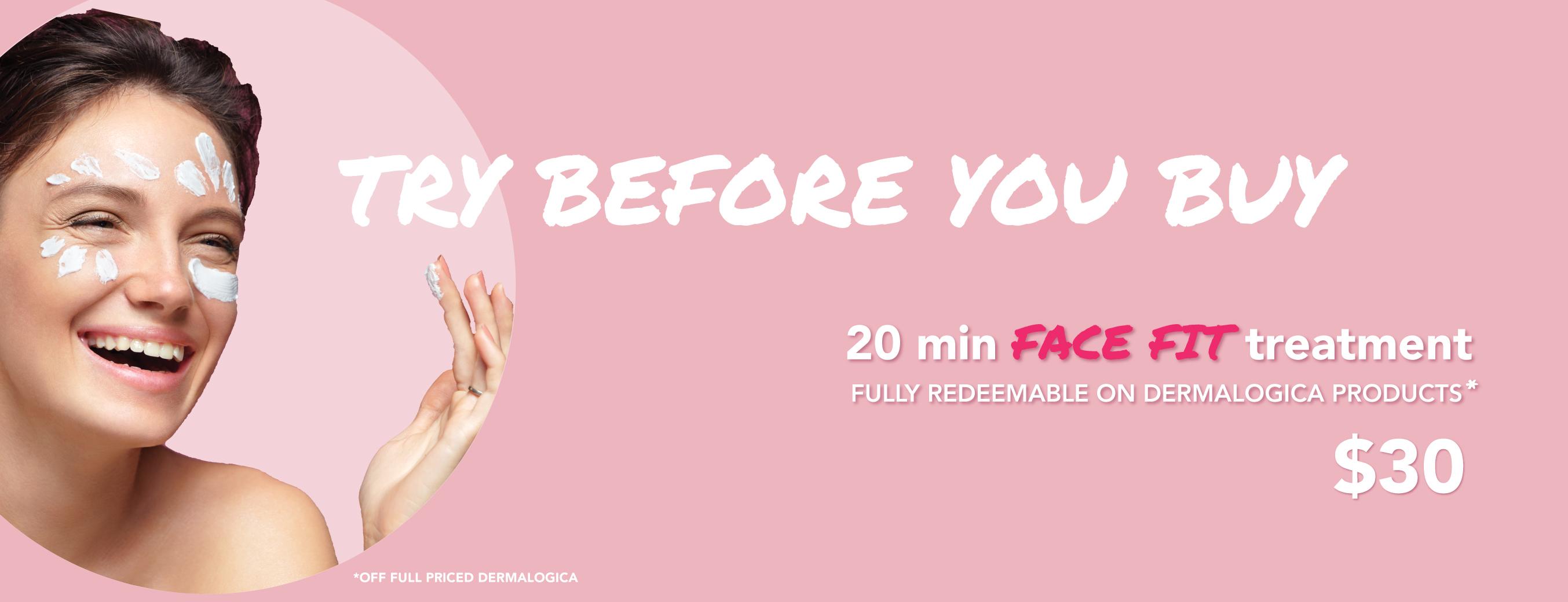 Dermalogica Face fit treatment beauty & bronze sale